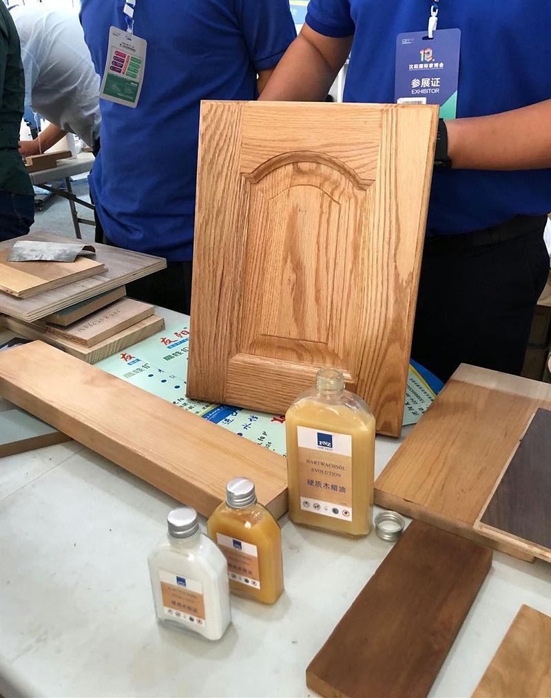 进口木蜡油施工
