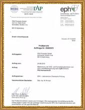 食品级接触欧盟 第10211号指令