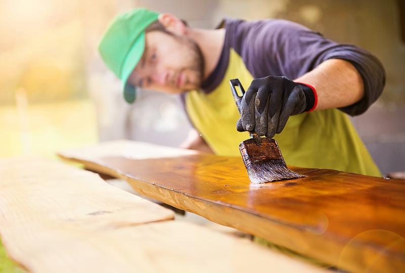 木蜡油的施工方法