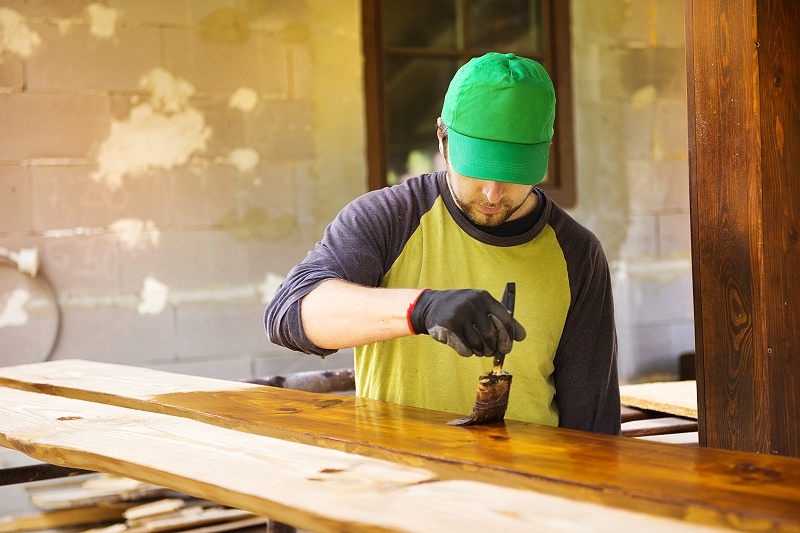 木蜡油施工
