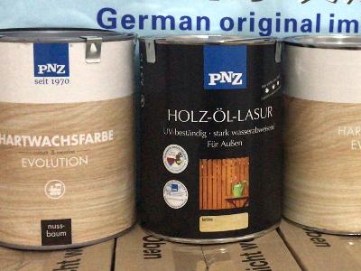 正品德国pnz木蜡油外包装
